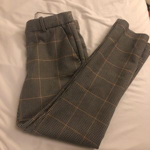 H&M Houndstooth Trousers